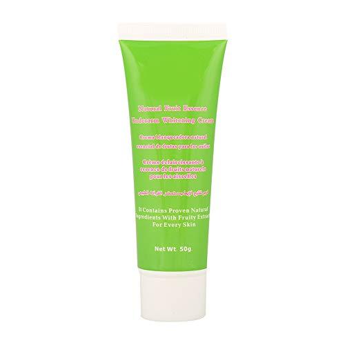 Crema Blanqueadora 50G, naturalmente efectiva para aclarar axilas, exfoliaciones corporales y áreas privadas