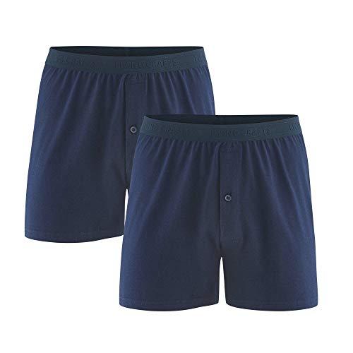 Living Crafts Boxer-Shorts, 2er-Pack XL, Navy