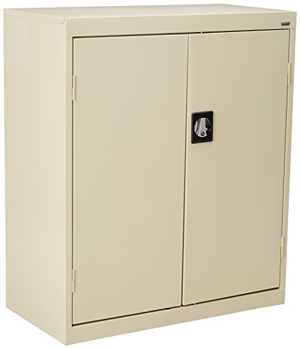 Lorell LLR41304 Fortress Series Storage Cabinets, Putty