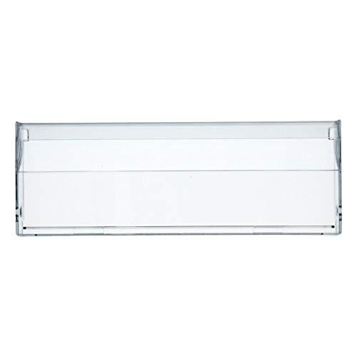 Bosch Siemens 742343 00742343 ORIGINAL Schubladenblende Blende Abdeckung 395x145mm Gefrierbehälter Schublade für Kühlschrank Gefrierschrank