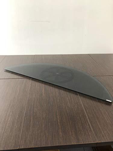 Tecnidea Base de TV giratoria GK84, color negro ahumado, dimensiones del lado frontal 84 x 36 cm, capacidad de carga 40 kg.