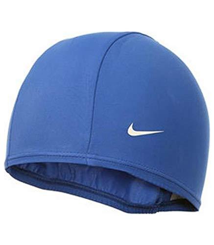 Nike 93065-494 Schwimmkappe, blau, Einheitsgröße