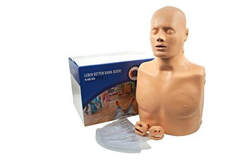 Medx5 Übungspuppe für Wiederbelebung, Trainingspuppe für Erste Hilfe Training, Wiederbelebungspuppe