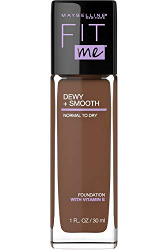 Price comparison product image Maybelline New York Fit Me Dewy + Smooth Foundation Makeup,  Java,  1 Fl. Oz (Pack of 1)