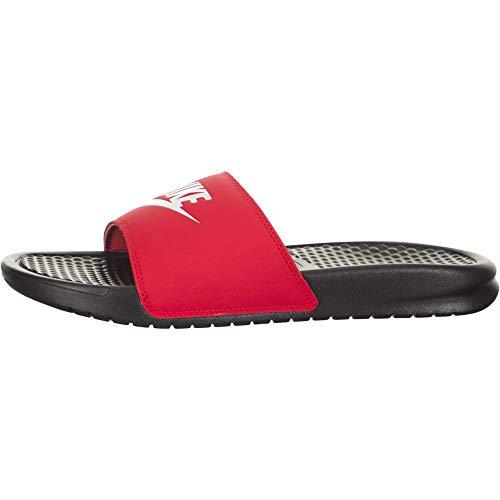 Sandalia Nike Benassi Jdi Preto+vermerlho Masculino 38