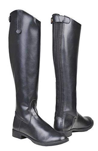 HKM Reitstiefel -New General-, Damen, kurz/weit, schwarz, 41