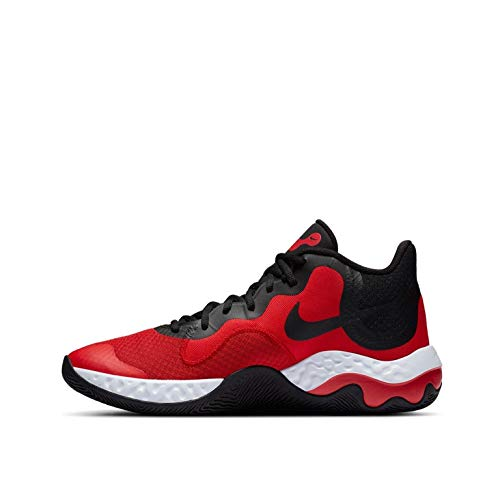 Nike Renew Elevate, Scarpe da Basket Uomo, Univ Red/Black-White, 44 EU