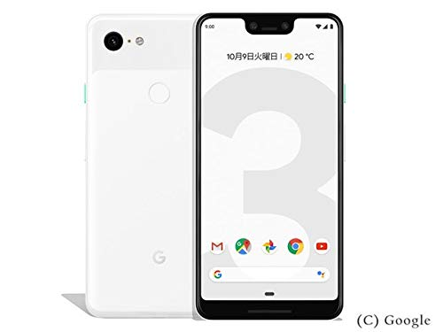 Google docomo Pixel 3 XL 128GB Clearly White SIMロック解除済み