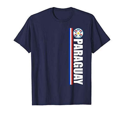 Paraguayan Football Camisa Bandera de Paraguay Souvenir Camiseta