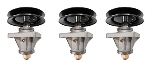 Raisman 3 Spindle Assemblies - Compatible with: MTD or Cub Cadet Spindle Part Number 618-04123, 918-04123, 618-04123B, 918-04123B
