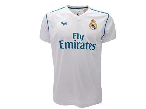 Real Madrid Replika Trikot, offizielles Produkt, personalisierbar mit Namen, Größen M-L-XL(XL)