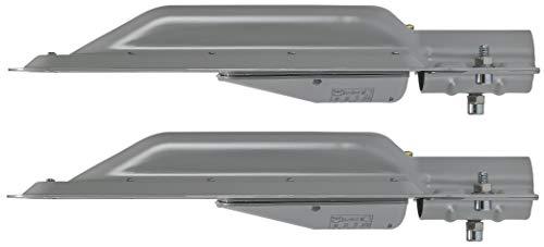 2er PACK - LED Aluminium Slim HighBay Basic Strassenleuchte IP65 60W 6000lm - kaltweiß (6500K)