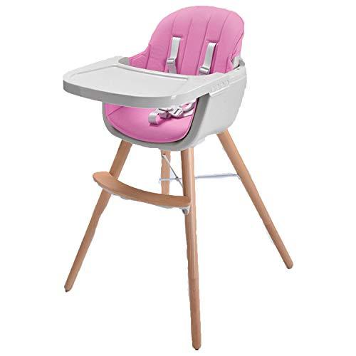 xianhuabing Chaise Haute pour B/éb/é Chaise De Salle /À Manger pour Enfants Grande Chaise De Salle /À Manger Portable Pliable Multifonctionnelle pour B/éb/é//Nourrissons//Tout-Petits