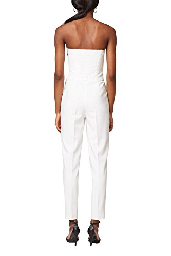 ESPRIT Collection Damen Jumpsuit, Weiß - 2