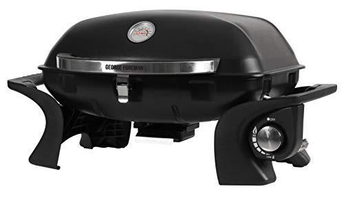 George Foreman GFSBBQ1 Portable Gas BBQ, Black