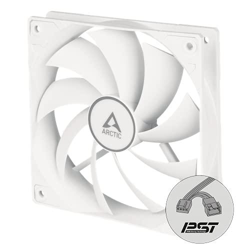 ARCTIC F12 PWM PST - 120 mm Ventilador de Caja para CPU con PWM Sharing Technology (PST) Motor Muy Silencioso, Computadora, 230-1350 RPM - Blanco (ACFAN00198A)