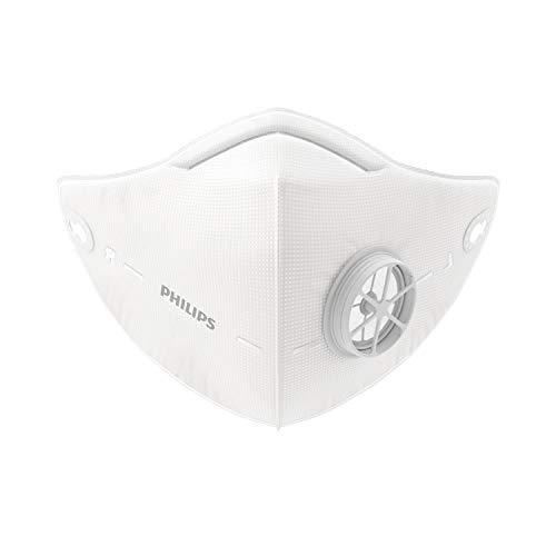 Philips FY0087/00 Filtro reemplazable de 4 capas para la mascarilla Philips Fresh Air Mask Series 6000, Pack de 5 unidades