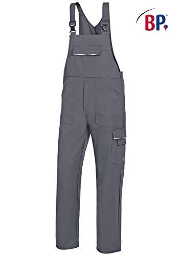 BP 1797-720-13-44n Arbeitshosen, mit doppeltem Taillenknopf und elastischem Rückenteil, 305,00 g/m² Verstärkte Baumwolle, Königsblau/Nachtblau ,44n