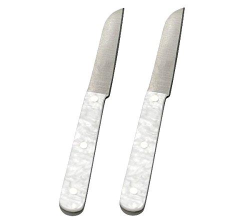 GRÄWE Küchenmesser 2 Stück im schönen PERLMUTT-Design