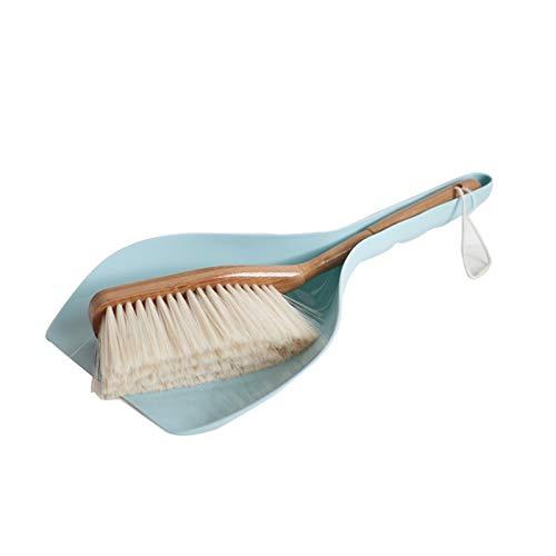 Plumero Atrapapolvo Grip de la mano de la mano y el juego de polvo y la escoba de polvo para el polvo y la escoba de la mano para el hogar RV amantes de las mascotas herramientas de limpieza mango de