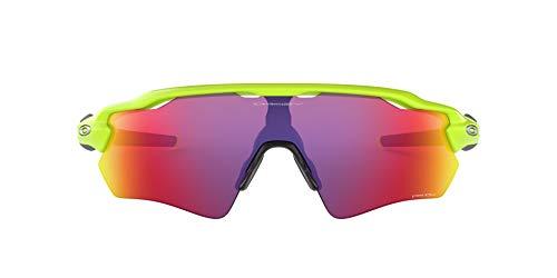 Oakley Men's OO9208 Radar EV Path Shield Sunglasses, Retina Burn/Prizm Road, 38 mm