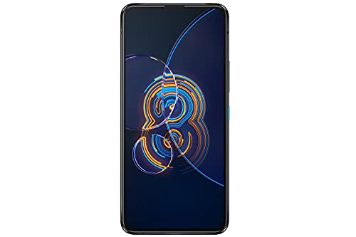 ASUS Zenfone 8 Flip - Smartphone 5G, 8 GB/256 GB, Android 11, schermo 90 Hz, batteria 5000 mAh, tripla fotocamera, USB-C - Nero Galactic