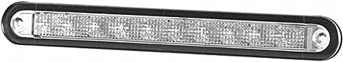 HELLA 2JA 959 073-201 Éclairage intérieur - LED - 24V - 2.0W - LED - Montage encastré - Couleur du voyant: limpide - Couleur LED: blanc