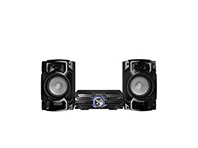 Panasonic SC-AKX520E-K 650W Wireless Megasound Hi-Fi Speaker System with Bluetooth and Karaoke by Panasonic