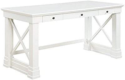 Coaster Home Furnishings Johansson 3-Drawer Writing Desk with X-Shaped  Braces Antique White - Amazon.com: Desk In Antique White: Kitchen & Dining