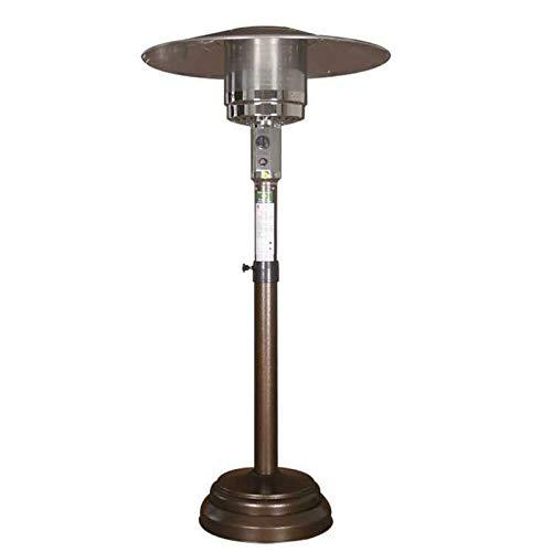 YILANJUN Gas Natural/Gas Licuado Calefactor de Terraza de Sombrilla | Fácil de Mover | Calentador de Patio | Radiador de Bajo Consumo | para Terraza, Exterior, Oficina, etc.