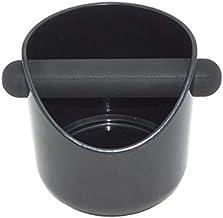 ABS Shock-absorbent Espresso Knock Box Anti slip Coffee Grind Dump Bin Waste Bin with Detachable Knock Bar for Barista