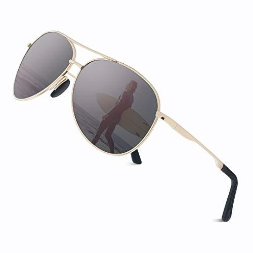 Cyxus Gafas de Sol Hombre Polarizadas, Gafas de Sol para Hom
