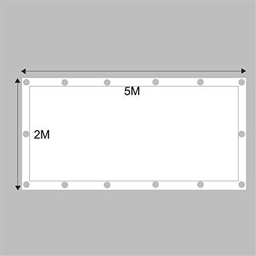 Quadratische Form Sonnenschirm Stoff Segel Mit Ösen Sunblock Mesh Shade Für Garten Terrasse Außenanlage Und Aktivitäten,2 * 5M