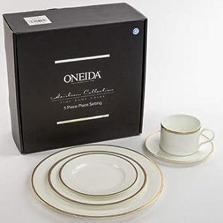 Oneida Golden Puritan Fine Dinnerware 5 Piece Place Setting