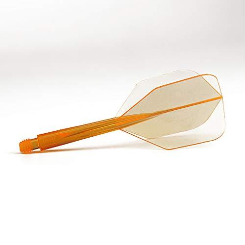 Trinidad darts condor achse shape neon orange lang 33 5 mm, 3 st?ck.