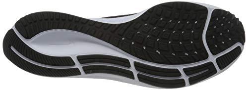 Nike Men's AIR ZOOM PEGASUS 37 Cross Country Running Shoe, Black White, 6.5 UK