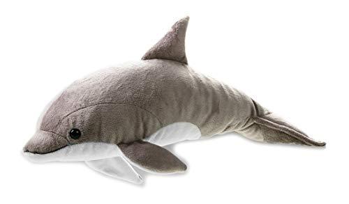 National Geographic- Delphin Animal en Peluche, 9770732, Gris