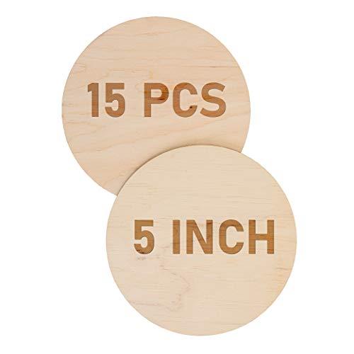 Lot de 5 x rond 10 mm Cercle Disque Vierge Artisanat Argent Cuivre Laiton Aluminium