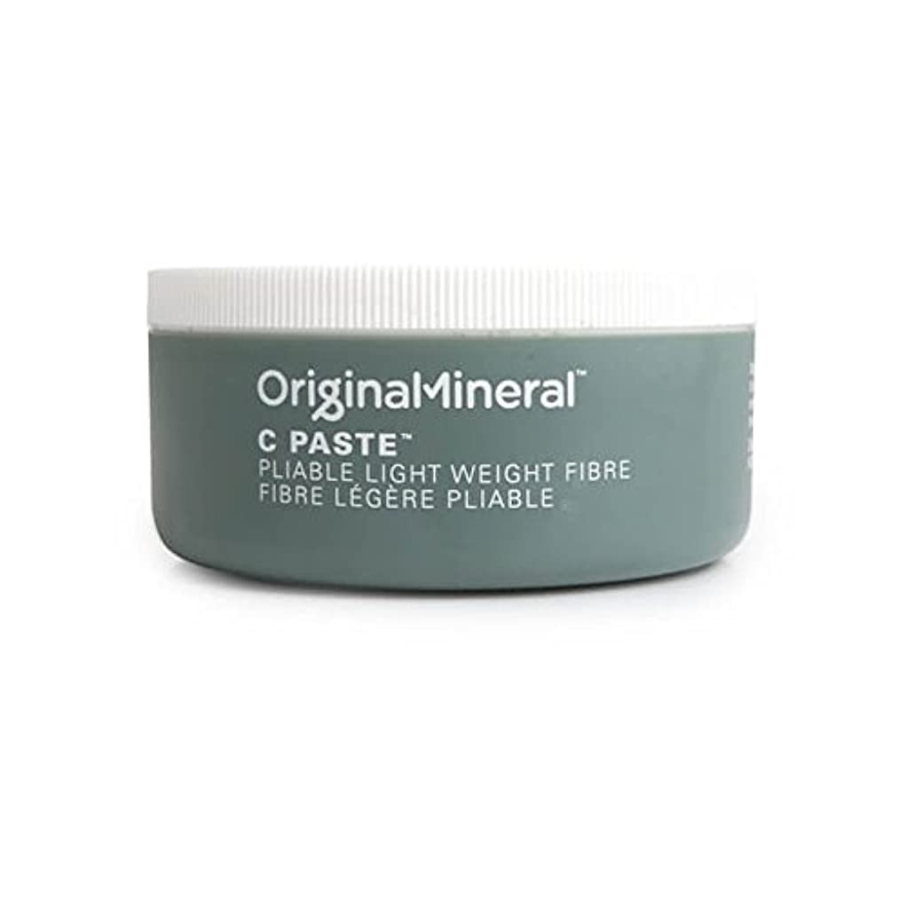 明らか湿原口述するオリジナル&ミネラルの-ペーストヘアワックス(100グラム) x2 - Original & Mineral C-Paste Hair Wax (100G) (Pack of 2) [並行輸入品]