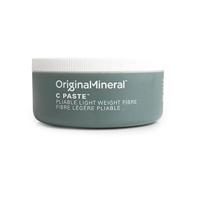 取り扱い空気無視できるオリジナル&ミネラルの-ペーストヘアワックス(100グラム) x2 - Original & Mineral C-Paste Hair Wax (100G) (Pack of 2) [並行輸入品]