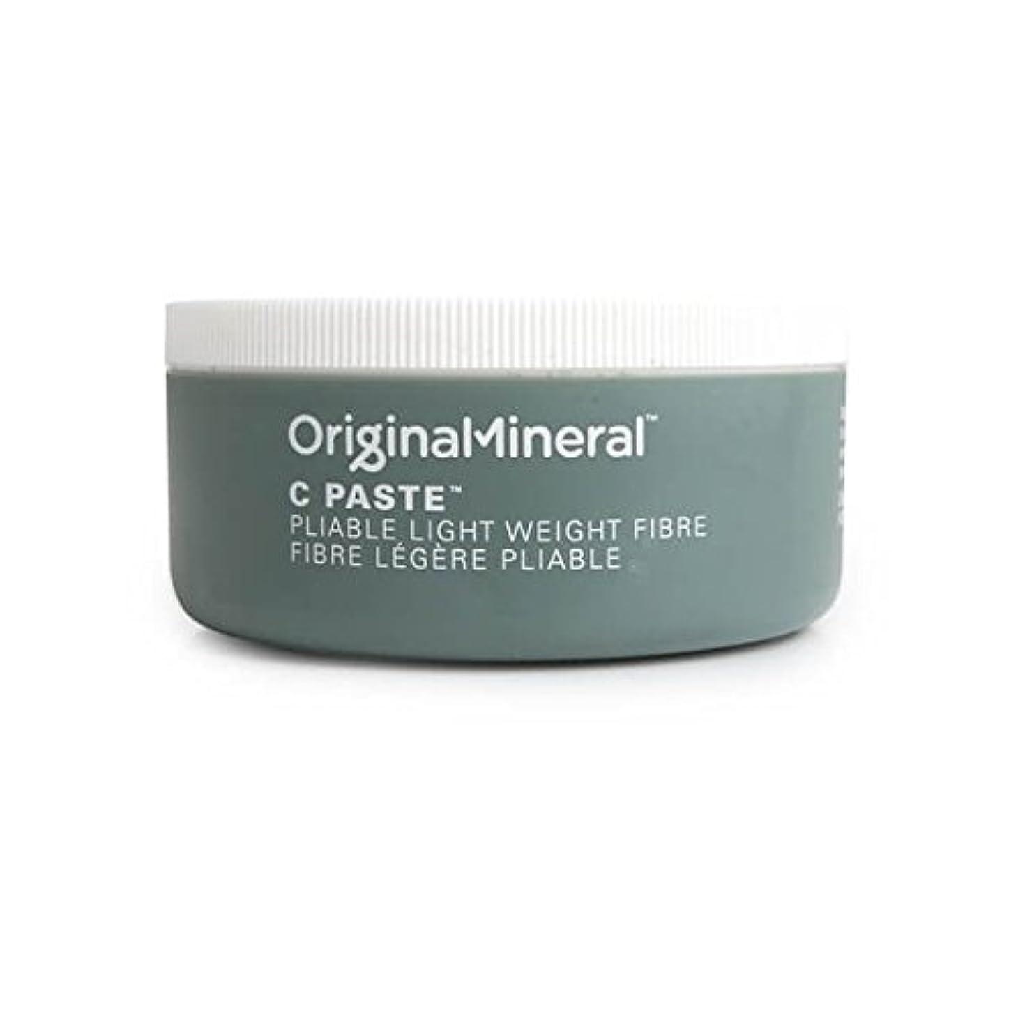 感度マークダウン返還オリジナル&ミネラルの-ペーストヘアワックス(100グラム) x4 - Original & Mineral C-Paste Hair Wax (100G) (Pack of 4) [並行輸入品]