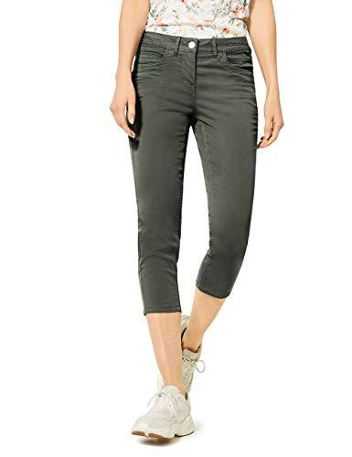 Cecil Damen 373018 Vicky 24 inch Hose, Simply Khaki, W30/L24