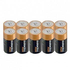 Duracell Plus MN1300 Alkaline Batterien - D / LR20 / Mono - 10 Stück