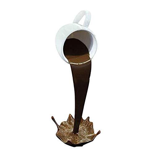 Schwebende Tasse Dekoration,3D Suspendierte Kaffeetasse Tasse Harz Kunst Dekor Für Home Kitchen Wohnzimmer