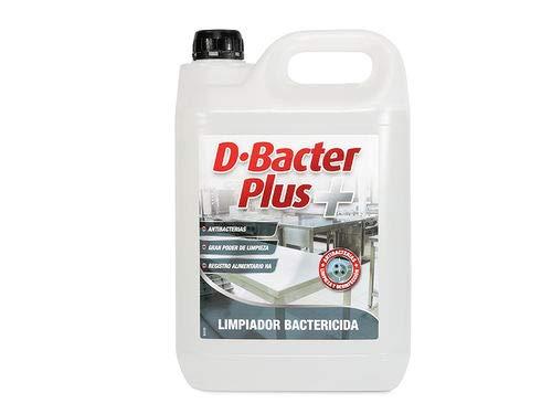 D-Bacter Plus 5L Desinfectante Bactericida en Base Amonios Cuaternarios