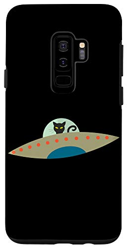 Galaxy S9+ Funny Alien Cat Phone Accessory Case