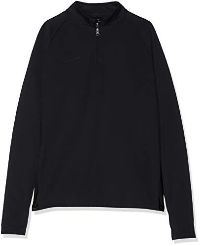 Nike Jungen B NK DRY ACDMY DRIL TOP Long Sleeved T-Shirt, Black, XS
