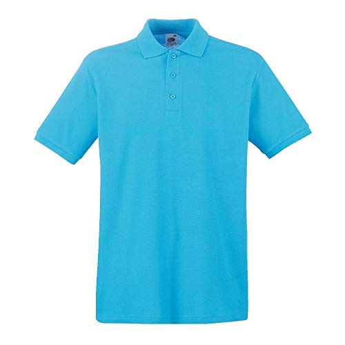 Fruit of the Loom Premium polo Azure Blue XL