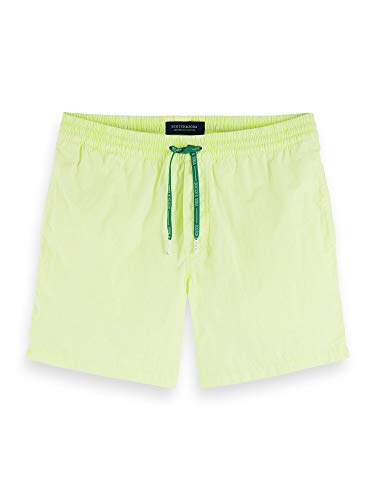 Scotch & Soda heren shorts Mid-length bright garment-dyed swim short