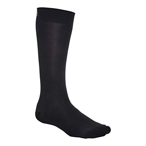 POC Essential Full Length Sock, Hombre, Uranium Black, LRG